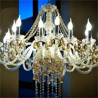 candelabros de plástico al por mayor-Bombillas de luz de vela LED lámpara E14 E27 B22 2835 SMD Cálido / Enfriar Blanco Led Proyector Araña llevó la cáscara de plástico Para La Decoración Casera
