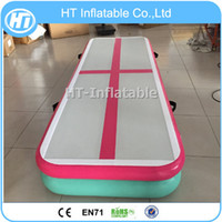 Wholesale gymnastics equipment for sale - Group buy m Length Gymnastics Equipment Multi Color Inflatable Air tTrack At Home Inflatable Air Tumble Track For Gym