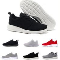 buy online 6c4d6 8c628 NIKE ROSHE RUN Zapatos de correr clásicos tanjun Negro blanco Hombres  Zapatos de para mujeres London Olympic Deportes para hombre al aire libre  Zapatillas ...