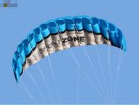 pipas de dupla linha dublê venda por atacado-Frete grátis 2.5 m de Linha Dupla Stunt power Kite papagaio macio Parafoil kite surf voando ao ar livre divertido esportes kiteboard