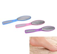 Wholesale beauty file - Grinding Exfoliating Brush Tools Beauty Heel-sided Feet Pedicure Calluses Removing Hand Foot File For Heels Foot Care DDA197