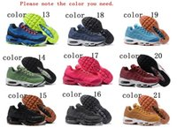 Wholesale Air 21 - Real Top Quality 2018 Air Cushion 95 Running Shoes Authentic 21 colors Sports Shoes For Women Top Sneakers vapormax size 36-40