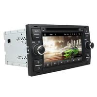nissan dash gps dvd achat en gros de-Lecteur DVD de voiture couleur argent 7 pouces 2 Go de RAM Andriod 6.0 pour Ford FOCUS Mondeo avec GPS, Bluetooth, Radio
