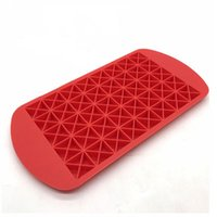 Wholesale mini bars for sale - Group buy Mini Non Toxic Ice Lattice Mold Cube Maker Food Grade Silicone Tray Diy Kitchen Bar Candy Moulds Eco Friendly Style fy ZZ