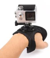 passeio de montagem venda por atacado-2018 Hot Camera Band Wrist Belt Mount Ride Hero Camera preto esporte viagem frete grátis