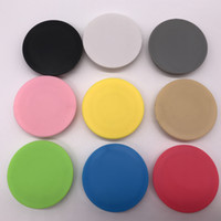Wholesale Best Cell Phone Holder - Best hot sale Pop Holder socket Pure color Mobile Holder Grip For iphone goophone Cell Phone by free DHL shipping