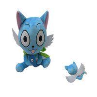 Wholesale wish toys resale online - High Quality Cotton quot cm Fairy Tail Happy Wish Fish Plush Toy For Child Holiday Gifts