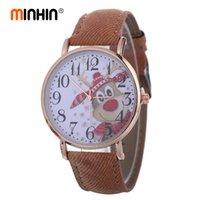 relógios de pulso venda por atacado-Personalizado de Quartzo Relógios De Pulso Das Mulheres Criativas Denim Pulseira Relógio de Presente de Natal Relógios de Ano Novo Design