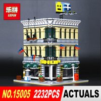 Wholesale toy bricks for children for sale - LEPIN City Creator Grand Emporium Model Building Blocks Bricks action Brick for Children Toy Compatible with