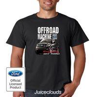 4x4 maschine großhandel-Ford-T-Shirt weg von der Straßen-Maschine 4X4 Ford-LKWs errichtetes starkes T-Stück der Männer 100% Baumwolle Kurzhülse Oansatz T-Shirt SpitzenT-Stück Grund