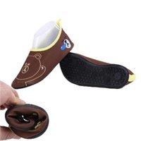 ingrosso caffè veloce-Scarpa casual unisex Quick Dry Bambino Ragazzi Scarpe Sneaker Coffee Bear Sport Running Anti-slip per piscina Beach Kid Shoe Scarpe da ginnastica per bambina
