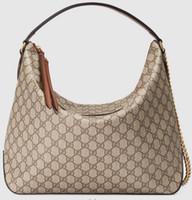 hobo kreuz schultertasche großhandel-2019 Large Hobo 477324 Damen Modenschauen Umhängetaschen Totes Handtaschen Top Cross Body Messenger Bags