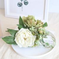 Kaufen Sie Im Grosshandel Rote Blumen Mittelstucke Hochzeitstische