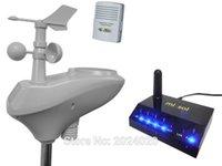 internet uzaktan toptan satış-MISOL / IP OBSERVER Güneş Enerjili Kablosuz İnternet Uzaktan İzleme Hava İstasyonu