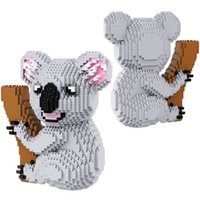 Wholesale cute koala bears - Koala Bear Model Bricks Mini 2100pcs Nano Diamond Assemble Building Blocks For Children Adult DIY Education Cute Toy Gifts 36bb YY