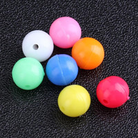 Wholesale lure hard plastic mix for sale - 100pcs Round Mixed Color Fishing Rigging Plastic Beads Stops for Lure Spinners Sabiki mm mm