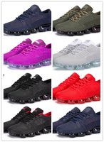 Wholesale Nano Green - New men's Arrival Vapormax 2018 rubber print nano Plyknit Running Trainers Tennis drop mold Kpu Homme Sport Authentic Sneakers shoes for men