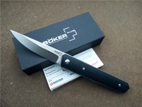 Wholesale pocket blades - BOKER Kwaiken Ball Bearing Flipper Folding Knife G10 Handle VG10 Steel Outdoor Camping Knives EDC Pocket Knife