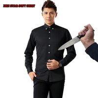Wholesale Down Proof - Wholesale-New Self Defense Tactical SWAT Gear Anti Cut Knife Cut Resistant Shirt Anti Stab Proof long Sleeved Men shirt Security Clothing