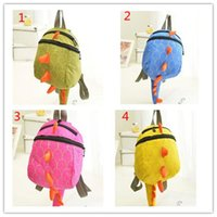 4Color The Good Dinosaur kids Cartoon Arlo Anti Lost backpack kindergarten  girls boys children backpack school bags animals dinosaurs snacks 0e479a566bb76
