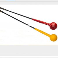 Wholesale swings for sale for sale - Group buy Hot Sale Golf Swing Trainer Aids Adult Rubber Ball Practice Rod For Strength Training Tools Outdoor Sports zy Ww