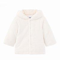 casaco de veludo xl venda por atacado-Casaco de bebê Meninos Meninas Outono Inverno Novo Além de Veludo Grosso Outerwear Moda Casacos Com Capuz Bebê Roupas para o Bebê