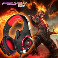 Wholesale usb pc headset - New for mobile phone PS4 PSP PC Gaming Headphones 3.5mm+usb Wired Headset with Microphone LED Lamp Noise Canceling Headphone