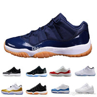 Wholesale leather tassels for sale - New Cheap XI 11 Concords Low Basketball Shoes Mens an women Sneakers Air Athletic Shoes Super Sport Shoes For Sale SIZE 5.5-13