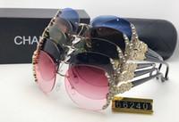 vintage runde übergroße sonnenbrille großhandel-Neuheiten 2019 Luxus Frauen Sonnenbrille Mode Runde Damen Vintage Retro Marke Designer Übergroßen Weiblichen Sport Sonnenbrille Gezeiten