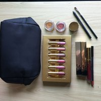 Wholesale Golden Liner - Drop Ship Gift Box Golden Box Gloss Suit Makeup Bag Birthday Collection Cosmetics Birthday Bundle Bronze liner Holiday