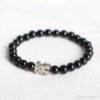 Wholesale unique stainless designs - TL Stone Beads Bear Rope Bracelet Hand Made For Women Manual Popular Fashion Unique Design New