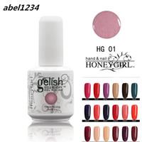 Wholesale uv gel nails colors for sale - NEW Girl UV Gel polish Nail Gel Colors Long lasting Color Soak Off Led Led Nail Gel Lacquer Varnish
