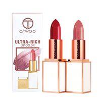 Wholesale lipstick 24 colors matte for sale - O TWO O Brand Colors Semi velet Matte Lip Stick Moisturizer Long Lasting Makeup Waterproof for Comfortable Non drying Lipstick