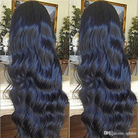 Wholesale brazilian lace wigs 28 inch resale online - 30 Inch Full Lace Wig Pre Plucked Brazilian Body Wave Virgin Hair Lace Front Wig In Glueless Full Lace Human Hair Wigs