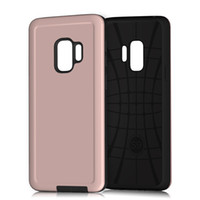 Wholesale p roses - Hybrid Armor Case For Samsung Galaxy S9 plus For Huawei Y9 2018 case P Smart phone case Dual Layer Protective Cover B