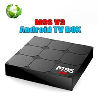 android smart tv v3 großhandel-RK3229 M9S V3 Smart Android 6.0 TV-Boxen Quad Core 1 GB 8 GB Internet-TV-Box WiFi HDMI 4 K Smart Media Player Besser MXQ PRO S905W