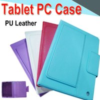 Wholesale Ipad mini234 inch Bluetooth Keyboard PU Leather Case Wireless Multi color with Stand Holder Leather Tablet Case for mini2 Tablet PC XPT