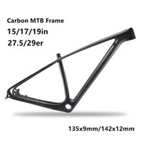 Wholesale 29er carbon - MTB 142 135 carbon mountain bike frame 29er 27.5er carbon mtb frames 650b carbon bike frames DPD duty free shipping