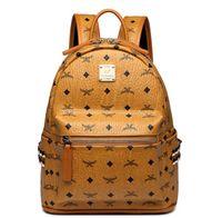 ingrosso borse posteriori per le donne-Cuoio genuino di alta qualità 3 dimensioni 2018 Luxury Brand uomo donna Zaino famoso Zaino Designer zaini donna Borse Donna Uomo zaino