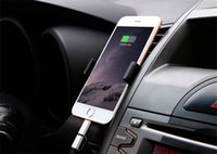 Wholesale Multi Cell Charger - 2018 Car Air Vent Holder Universal car holder multi Colors 360 Degree Rotation Car Cell Phone Holder For Smart Phone