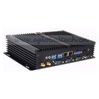 ingrosso lega espressa-Eglobal 2018 Desktop industriale GK-C1037U con colore nero lega di alluminio 1.8 GHz Intel NM76 Express economici Mini PC