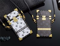 spectacle de filles en cuir achat en gros de-Cas de la mode Paris Show Brands en cuir TPU pour iPhone X XS Max XR couverture souple pour Iphone 8 7 6 6 S Plus hommes fille Designer téléphone cas