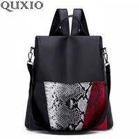 sac à dos de style coréen achat en gros de-Oxford Cloth Backpack Female 2018 Nouvelle version coréenne du sac à dos de voyage de grande capacité pour femmes de la mode sauvage, ZY98
