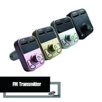 modulador usb venda por atacado-B3 Mãos Livres Transmissor FM Sem Fio Bluetooth Car Kit AUX Modulator Car Kit MP3 Player SD USB Carregador Acessórios Do Carro