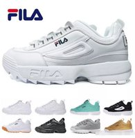 Wholesale raf simons sneakers online - 2018 New Raf Simons x Disruptors II Mens Running Shoes raf simons ozweego Sawtooth Casual Dad Women shoes Designer Sneakers