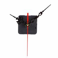 réparation de mouvement d'horloge achat en gros de-Mécanisme d'horloge bricolage horloge à quartz mouvement mécanique Kit broche mécanisme de réparation avec des ensembles de main Cross-stitch mouvement horloge accessoires
