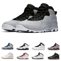 Wholesale design basketball shoes men sports - West Cement Basketball Shoes sneaker s school back Class of smoke grey Chicago new design Mens sports sneaker drop shipping run