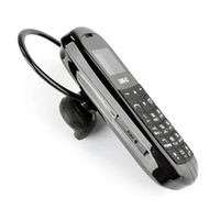 радио-сим-карты оптовых-J8 Bluetooth Dialer мини мобильный телефон 0.66-дюймовый экран поддержка FM-радио Micro SIM-карты Hands Free автомобильная музыка гарнитура карманный мини-телефон