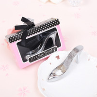 Wholesale Party Things - Party Favor It's a Shoe Thing Metal High Heel Shoe Bottle Opener Wedding Souvenirs for Guest wen5825