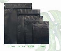 wiederverschließbare folienbeutel großhandel-2018 multi Farbe wiederverschließbare Zip Mylar Tasche Lebensmittel Lagerung Aluminiumfolie Taschen Kunststoff Verpackung Tasche Geruch Beweis Beutel